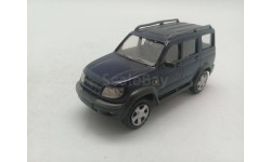 УАЗ-3162М 'Симбир' темно-синий, масштабная модель, 1:43, 1/43, Киммерия