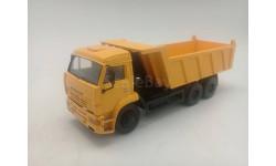 КамАЗ 6520  самосвал рестайлинг, желтый, масштабная модель, Киммерия, scale43