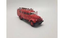 Пожарный автомобиль связи и освящения АСО-2 на шасси ЗИЛ-164, масштабная модель, СарЛаб, ГАЗ, scale43