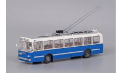 Троллейбус ЗиУ-5 - бело-синий - С ПОЧТОЙ!!!, масштабная модель, 1:43, 1/43, Classicbus