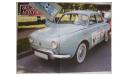 Renault Dauphine Польская журналка №142, масштабная модель, 1:43, 1/43, DeAgostini