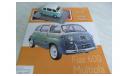 Fiat 600 Multipla Польская журналка №148, масштабная модель, 1:43, 1/43, DeAgostini