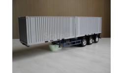 Полуприцеп-контейнеровоз МАЗ-938920 (серый) Аист С РУБЛЯ