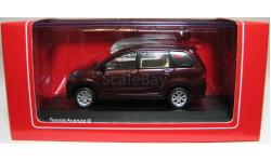 Toyota Avanza G, 2011, RIMS, 1/43, редкая масштабная модель, 1:43