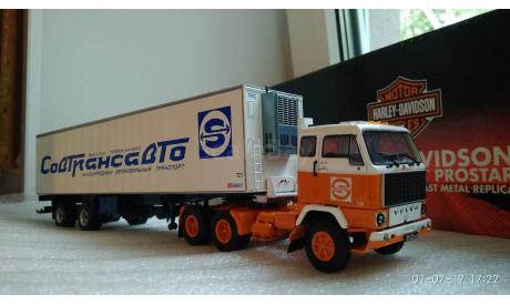 Tekno 1/50 Volvo Совтрансавто, масштабная модель, 1:50
