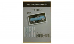 Брошюра на 1956 Ford Thunderbird Franklin mint 1/43
