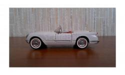 Chevrolet Corvette 1953 Franklin mint 1/43, масштабная модель, 1:43