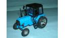 Трактор МТЗ-82 с зеркалами и дворниками (гол-чер) тип 2, масштабная модель, 1:43, 1/43, Компаньон