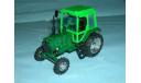 Трактор МТЗ-82 с зеркалами и дворниками (зел.- бир.), масштабная модель, 1:43, 1/43, Компаньон