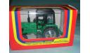Трактор МТЗ-82 с зеркалами и дворниками (зел.- черн.), масштабная модель, 1:43, 1/43, Компаньон