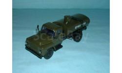 ГАЗ-53 бензовоз 'Огнеопасно' (хаки), масштабная модель, 1:43, 1/43, Компаньон