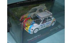 Peugeot 306 Maxi ,  Rallye de Lorraine (2007), масштабная модель, 1:43, 1/43, Altaya