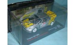 Peugeot 307 WRC #1 , Rallye Du Limousin (2008), масштабная модель, 1:43, 1/43, Altaya