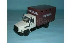 ГАЗ-3309 фургон 'Мебель', масштабная модель, 1:43, 1/43, Компаньон