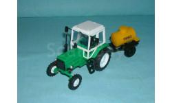 Трактор МТЗ-82 с прицепом 'Пиво' (Тантал+Компаньон) зел.