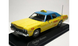 Dodge Monaco 'Taxi' 1974.Minichamps, масштабная модель, 1:43, 1/43