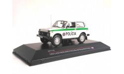 IST118 --- ВАЗ 2121 Slovak Republik Police 1993 Lada НИВА --- ИСТ Models 1:43, масштабная модель, 1/43, IST Models