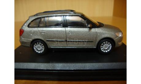 Skoda Model Fabia Combi (facelift), масштабная модель, 1:43, 1/43, Abrex