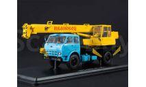 МАЗ-500А Автокран КС-3571 (500А),, масштабная модель, Автоистория (АИСТ), scale43