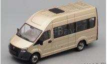 ГАЗель Next A65R32 пассажирская, бежевый, масштабная модель, Наш Автопром, scale43