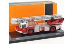 MAGIRUS DLK 2312 'Feuerwehr Frankfurt' (пожарная лестница), масштабная модель, IXO грузовики (серии TRU), scale43