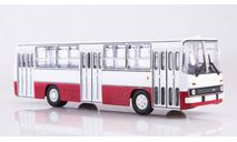 IKARUS 260, бело-красный, масштабная модель, советский автобус, scale43