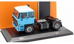 DAF 2800 1975 Light Blue / White, масштабная модель, WhiteBox, 1:43, 1/43