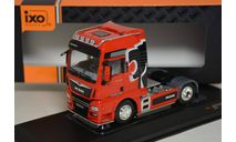 MAN TGX 18.500 4×2 BLS XXL cab 'Lion Pro Edition' 2018 Red-2800р, масштабная модель, IXO грузовики (серии TRU), scale43
