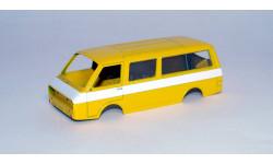 РАФ-2203 кузов, сборная модель автомобиля, scale43