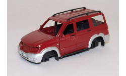 кузов УАЗ ПАТРИОТ, запчасти для масштабных моделей, scale43