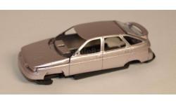 ВАЗ-2112 кузов, сборная модель автомобиля, Агат/Моссар/Тантал, 1:43, 1/43