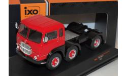 FIAT 690 T1 1961 Red седельный тягач, масштабная модель, Scania, 1:43, 1/43