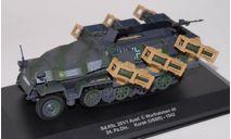Sd.Kfz. 251/1 Ausf.C Wurfrahmen 40 24. Pz.Division, масштабные модели бронетехники, 1:43, 1/43