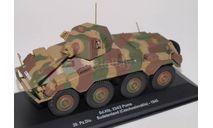 Sd.Kfz.234/2 'Puma' 20.Pz. Division Sude, масштабные модели бронетехники, scale43