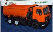МАЗ-6501 самосвал, масштабная модель, scale43