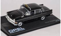 Opel Kapitän P2 Taxi - black, масштабная модель, Altaya, 1:43, 1/43