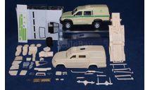 Кит УАЗ инкассаторский (УАЗ Pickup Броник), сборная модель автомобиля, Конверсии мастеров-одиночек, 1:43, 1/43