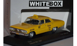FORD Galaxie 500 'New York Taxi' (1967), yellow, масштабная модель, WhiteBox, 1:43, 1/43