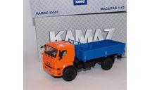 КАМАЗ-43502 бортовой,, масштабная модель, scale43