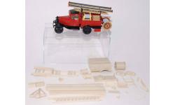 Кит АЦ пожарная ГАЗ-АА (ИРКУТСК), сборная модель автомобиля, Конверсии мастеров-одиночек, scale43