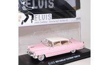 CADILLAC Fleetwood Series 60 Elvis Presley 'Pink Cadillac' 1955, масштабная модель, Greenlight Collectibles, scale43