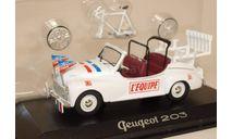 Peugeot 203 'Tour de France', масштабная модель, Norev, scale43