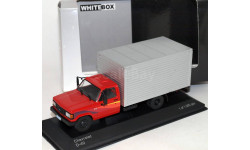 1:43 CHEVROLET D-40 (фургон) 1985 Red/Silver, масштабная модель, scale43