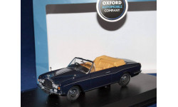 ROLLS ROYCE Corniche Convertible 1971 Indigo Blue, масштабная модель, Oxford, scale43, Rolls-Royce