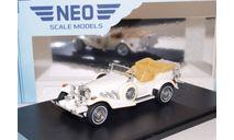 EXCALIBUR Series III Phaeton 1977 White, масштабная модель, Neo Scale Models, scale43