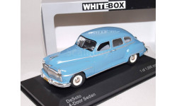 DESOTO 4-Door Sedan 1946 Blue, масштабная модель, WhiteBox, 1:43, 1/43