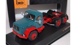 MAGIRUS Jupiter 6x6 1960 Green/Red седельный тягач, масштабная модель, IXO грузовики (серии TRU), 1:43, 1/43