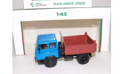 КАЗ-ММЗ-4502 самосвал, масштабная модель, Автоистория (АИСТ), scale43