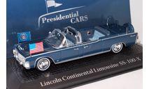 LINCOLN Continental Limousine SS-100-X президента США Джона Кеннеди 1963, масштабная модель, 1:43, 1/43