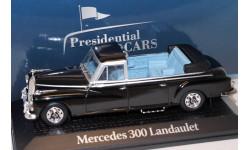 MERCEDES-BENZ 300 Landaulet федерального канцлера ФРГ Конрада Аденауэра 1963, масштабная модель, scale43, Renault